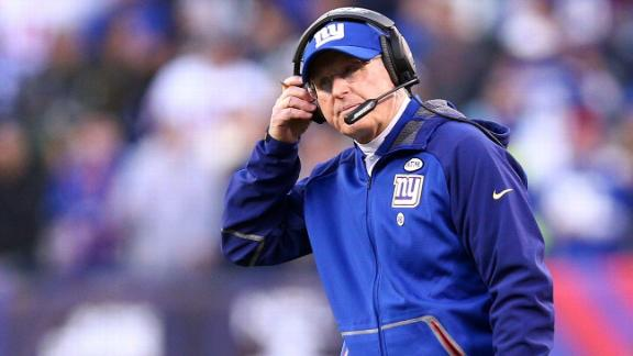 Coughlin admits 'hard feelings' about end of tenure with Giants