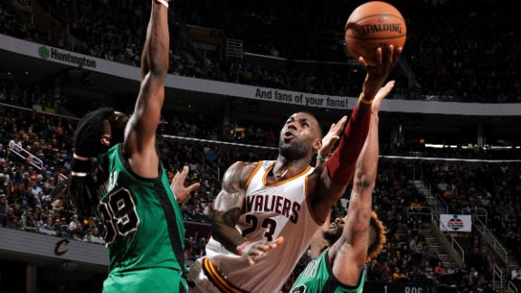 Cavs erase 18-point deficit to top Celtics