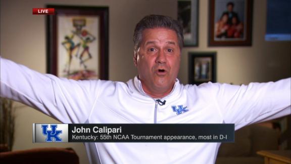 Calipari on No. 4 seed: 'Thank you!'