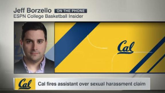 Cal fires assistant over sexual harassment claim