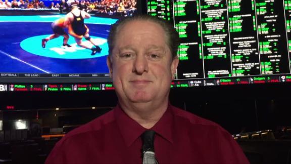 Vegas favors Kansas to win tournament