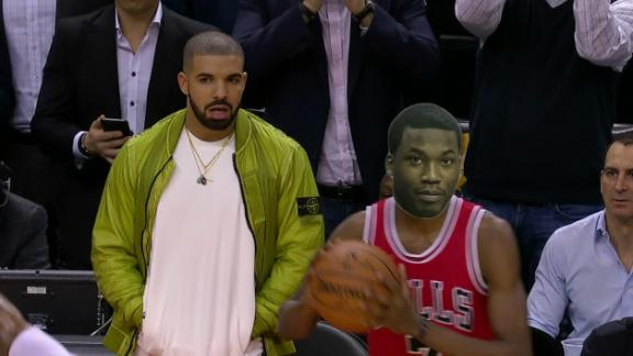 Drake made Justin Holiday feel like Meek Mill