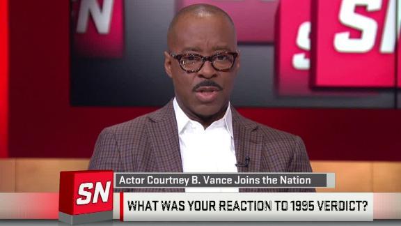 Video - Courtney B. Vance explains reaction to O.J. verdict