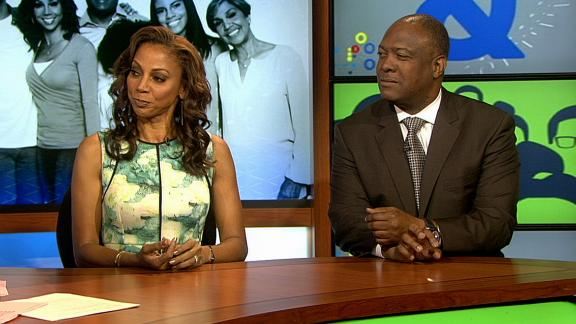 Video - Rodney, Holly Robinson Peete happy for Wilson, Ciara