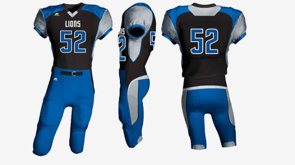 Video - Redesigning the Lions' uniforms