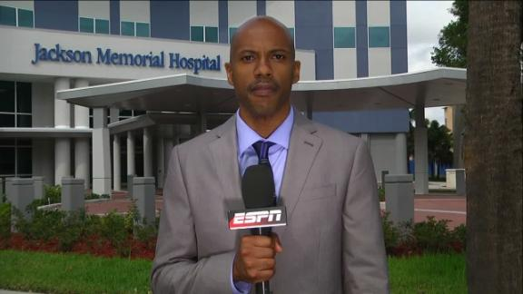 Video - Ravens send team officials to support Walker family