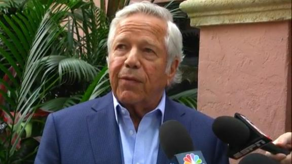 Kraft looking to get first-round pick back