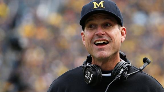 Golic: This is why Harbaugh is great Twitter follow
