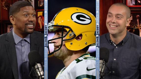 Video - Aaron Rodgers saw a UFO and Jalen Rose doesn't believe in aliens