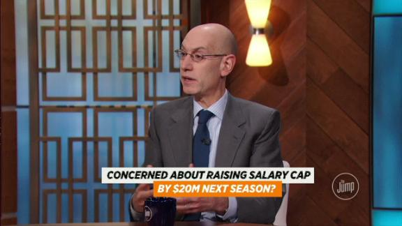 Silver concerned about raising salary cap?