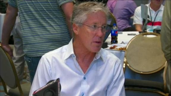 Video - Carroll: 'There's nothing that Russell can't handle'