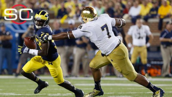 Could Michigan, Notre Dame renew football rivalry?