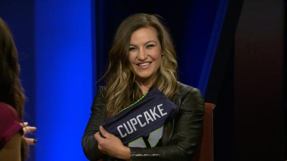 Video - Tate no longer offended by 'cupcake' nickname