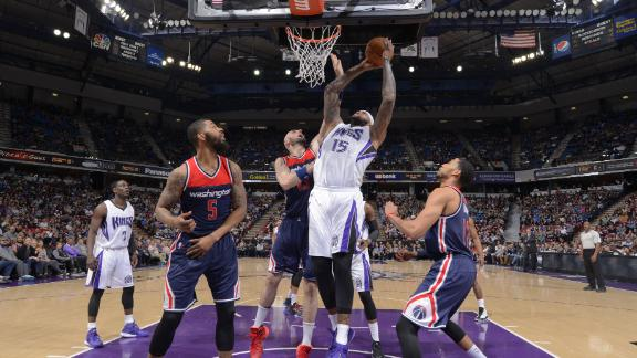 Wizards playoff hopes sinking, fall to Kings