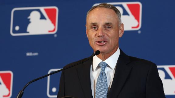 Manfred sides with Harper's opinion that baseball needs more self-expression