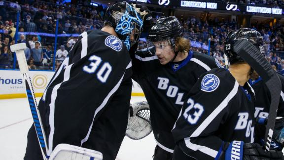 Lightning win first game without Stamkos