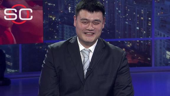 Yao Ming surprised, honored to enter Hall of Fame