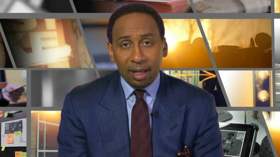 Video - Stephen A. happy for McCoy, still critical of his choices