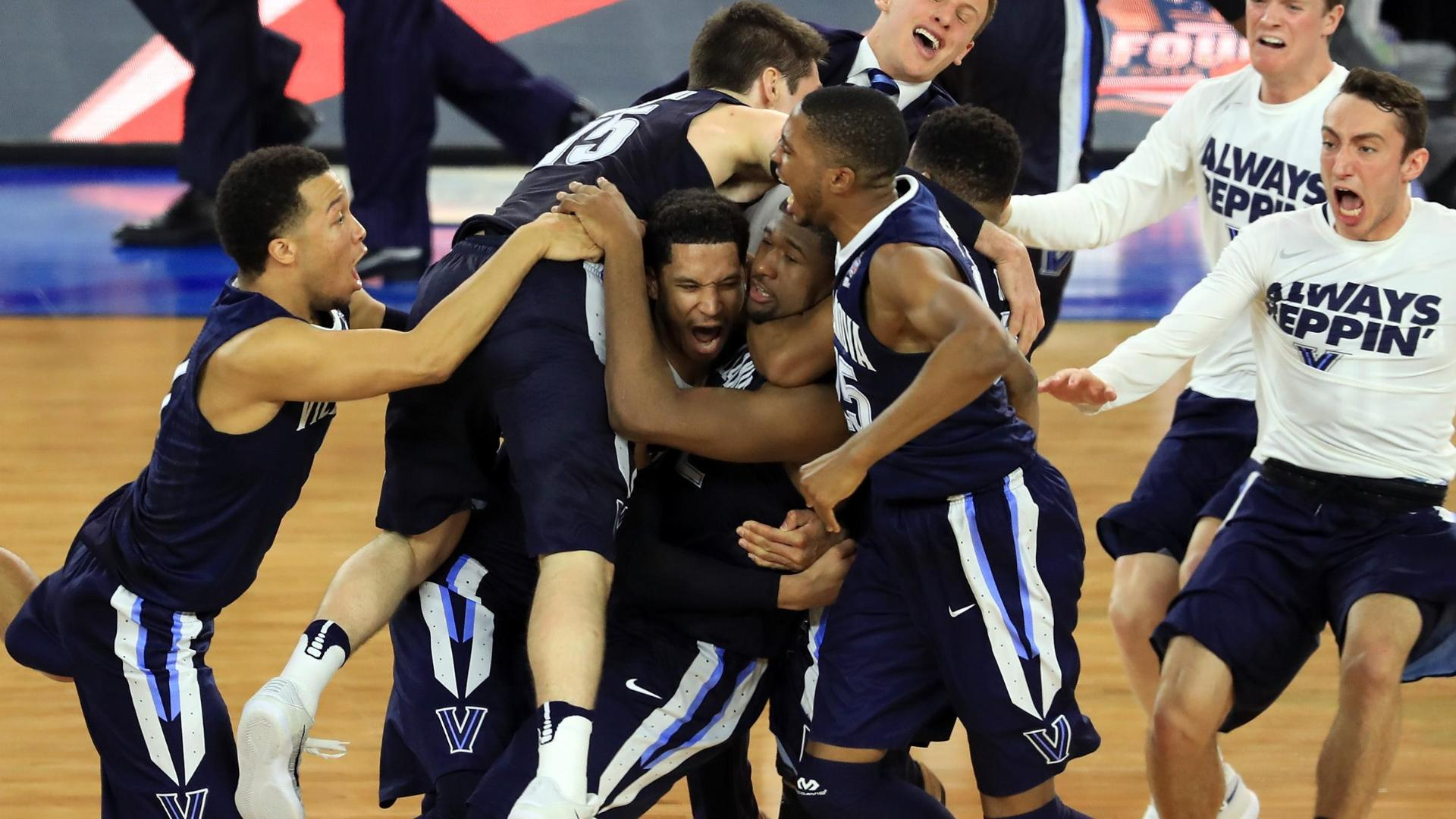 Villanova wins national title at buzzer
