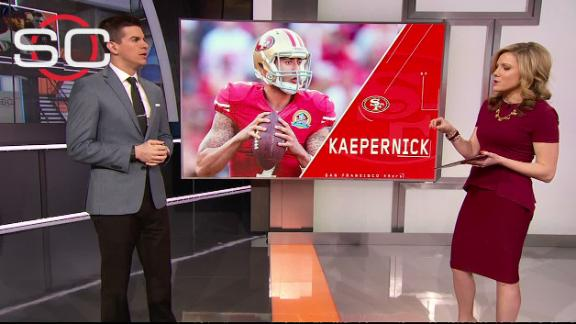 Video - Yates: Broncos need to find cap space for Kaepernick