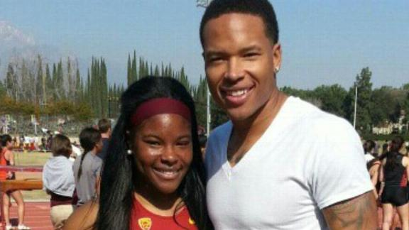 Video - Marvin Jones funding sister's Olympic bid