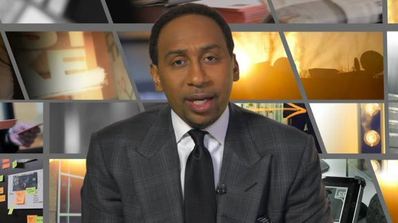 Video - Stephen A. applauds Steve Smith for speaking out