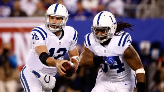 Video - Richardson and Luck were far from a dynamic duo for the Colts