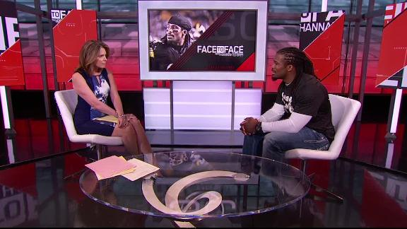 Video - DeAngelo Williams: 'I want to play until my production drops'