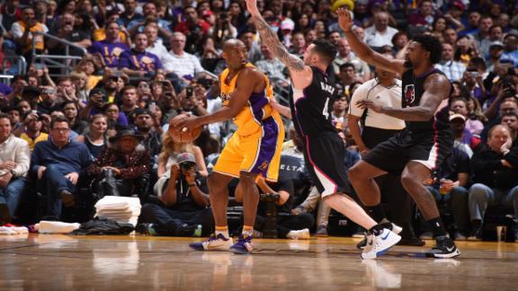 Kobe stellar early, but Lakers suffer 62nd loss