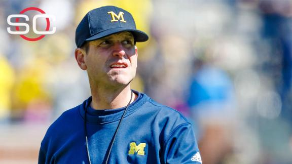 Is Jim Harbaugh to blame for satellite camp ban?