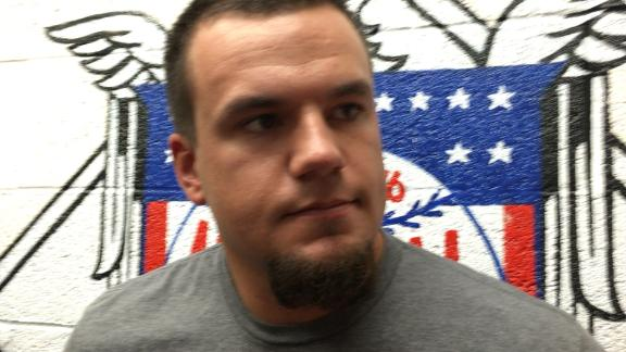 Schwarber on rehab plans after injury