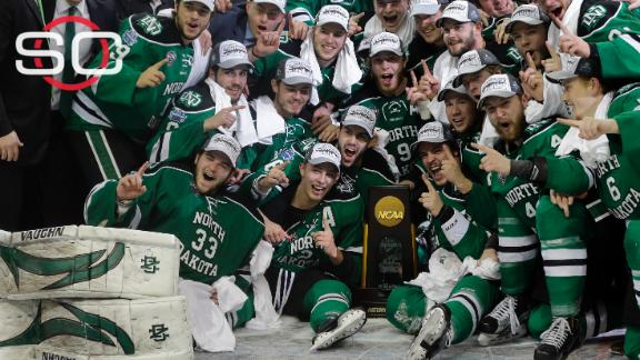North Dakota wins eighth Frozen Four