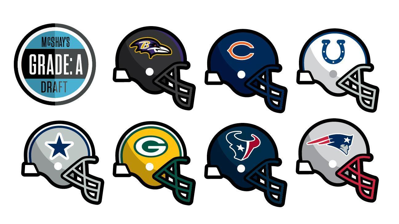 Video - NFL Insiders analyze McShay's 'Grade A' mock draft