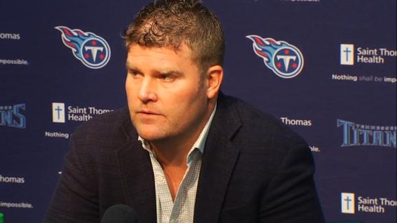 Video - Titans GM: Trading pick gives up options