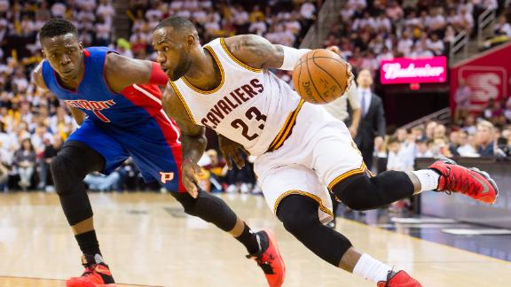 Cavaliers overcome halftime deficit to take Game 1