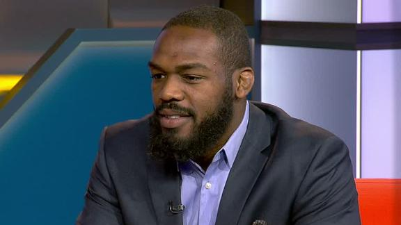 Video - Jon Jones' brothers helped him gain comfort in fighting