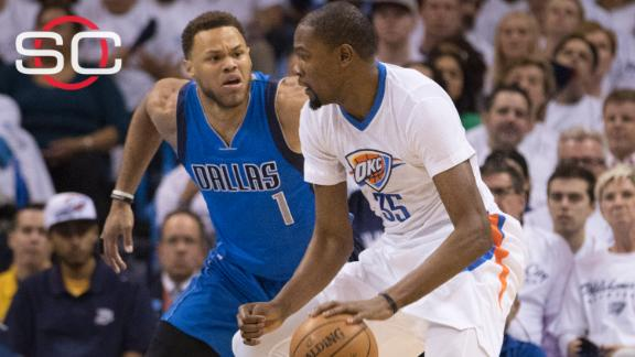Thunder, Durant awful on offense when it counted