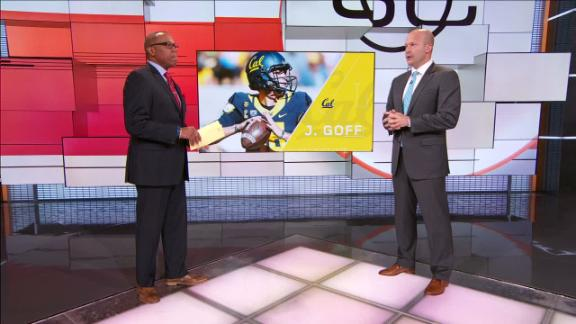 Video - Goff the more ready passer