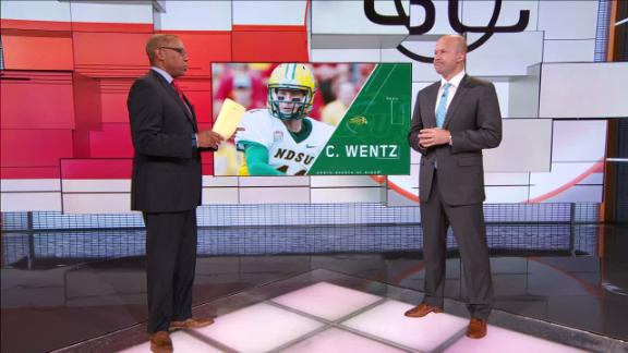 Video - Wentz has the traits of an NFL quarterback