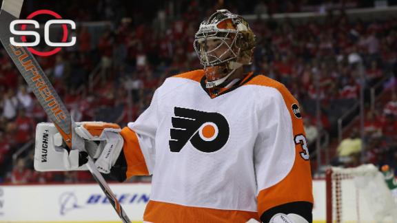 Flyers steal Game 5 behind Neuvirth's 44 saves