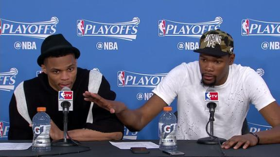 Durant on Cuban's comments: 'He's an idiot'