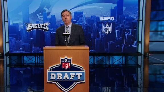 Video - Eagles take Wentz in NFL Nation mock draft