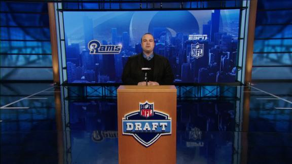 Video - Rams take Goff in NFL Nation mock draft
