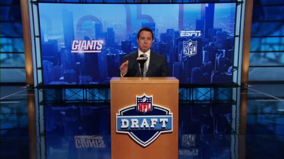 Video - Giants draft Leonard Floyd in NFL Nation mock draft