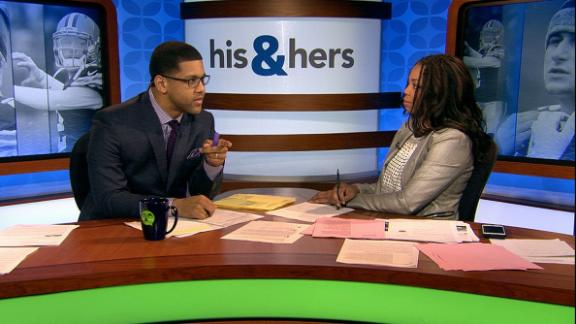 Video - His & Hers tired of talking Manziel