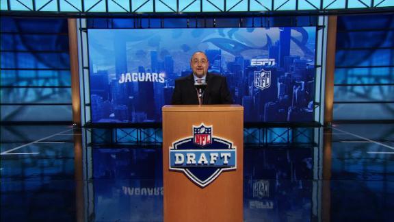 Video - Jaguars select Myles Jack in NFL Nation mock draft