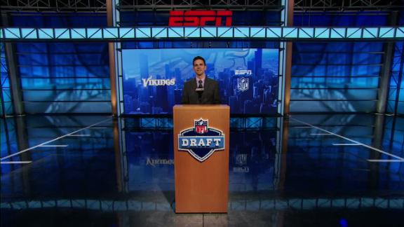 Video - Vikings select Laquon Treadwell in NFL Nation mock draft