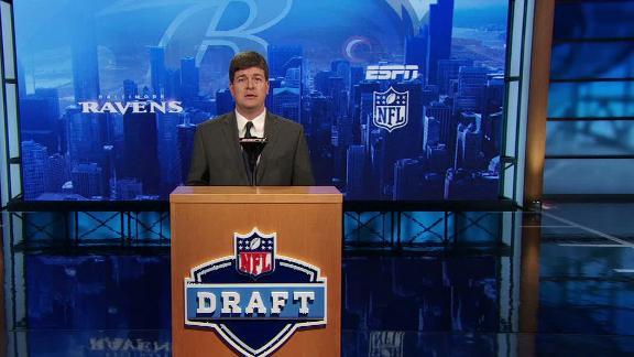 Video - Ravens draft Laremy Tunsil in NFL Nation mock draft