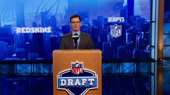 Video - Redskins draft Karl Joseph in NFL Nation mock draft