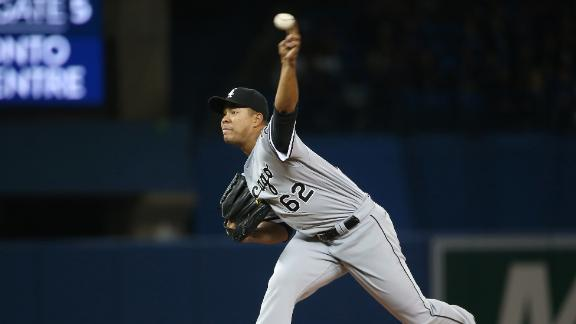 Quintana sits down 10 Blue Jays